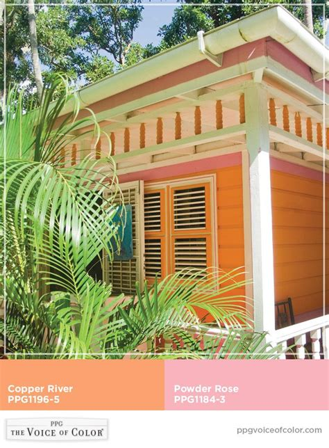tropical paradise caribbean vacation inspired paint