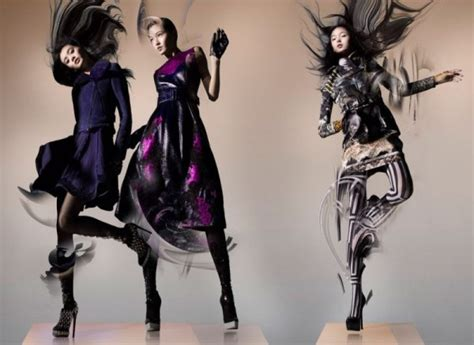 Lane Crawford Fall 2012 By Nick Knight Thecoolist The