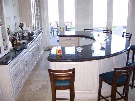 circular kitchen island unique kitchen island black marble countertops white
