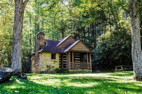 park cabin watoga state park paradise in pocahontas county