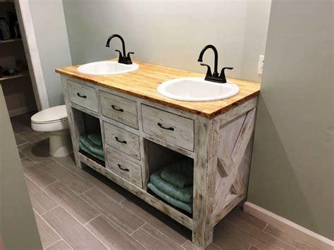 farmhouse bathroom vanity  top bathroom