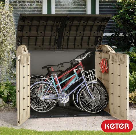 garden bike sheds storage keter store it out ultra storage shed bin bike tool garden