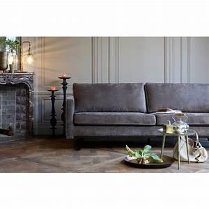 Canape contemporain 3 places en tissu rebel drawer for Canapé 3 places pour décoration de salon contemporain