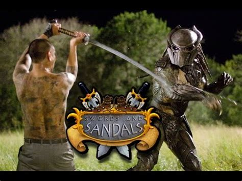 predator  yakuza man swords  sandals style youtube