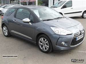 Equipement Ds3 So Chic 2011 : 2011 citroen ds3 1 6 e hdi90 92 airdream so chic car photo and specs ~ Gottalentnigeria.com Avis de Voitures