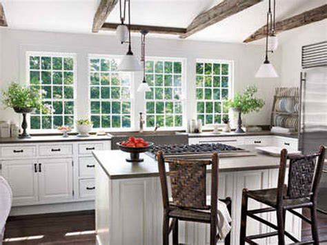 Kitchen  White Country Living Kitchens Country Living