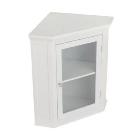 kitchen corner wall cabinet white corner wall cabinet shelf cupboard 2 shelves storage