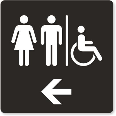 Bathroom Sign by Braille Unisex Restroom Sign With Pictograms Free Pdf