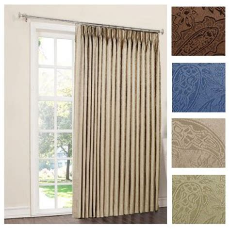 Insulated Window Curtain Liner by Gabrielle Thermal Insulated Foam Back Pinch Pleat Pair