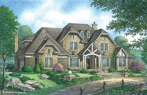 Home Plan The Kingsbridge By Donald A. Gardner Architects
