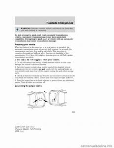 Lincoln Town Car 2009 Owners Manual  280 Pages   Page 220