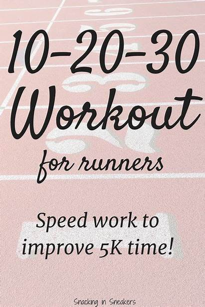 Training Improve Interval Running Snackinginsneakers 5k Workout