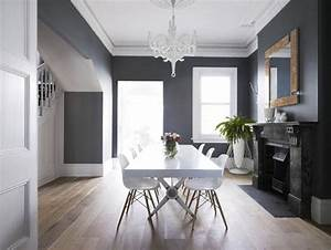 salon gris anthracite une ambiance moderne et deco With kitchen colors with white cabinets with des plaines city sticker