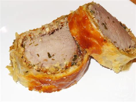 cuisiner un filet mignon au four filet mignon de porc de plein air en croûte aux noix et