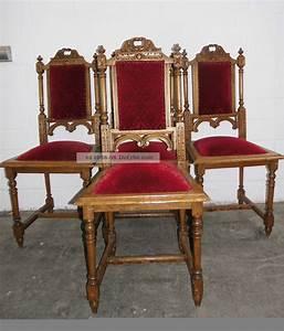 Antike Stühle Jugendstil : antike hochlehnerst hle st hle gepolstert eiche massiv ~ Michelbontemps.com Haus und Dekorationen