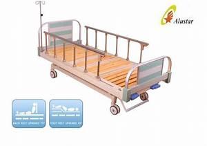 2 Cranks Medical Hospital Manual Clinic Bed Wooden Batten