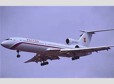 Russia Grounds Entire Fleet of Tupolev Tu154 Aircraft
