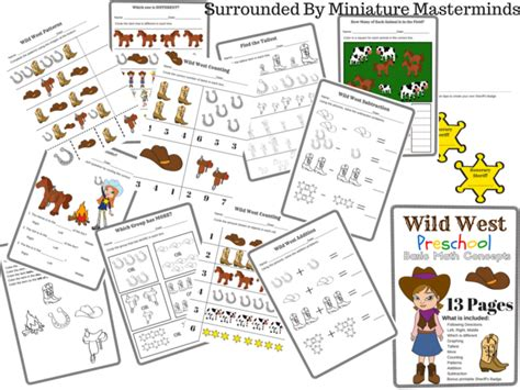 west preschool basic math concepts free 13 page 155 | Surrounded By Miniature Masterminds 1