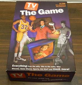 Tv Guide  The Game Board Game Review And Rules
