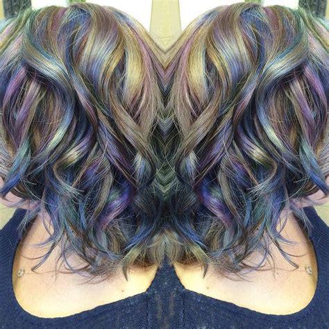 iridescent hair color opal iridescent hair www ursulagoff stuff that urs