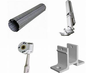 Aluminum Half Cassette Retractable Patio Awning For Parts