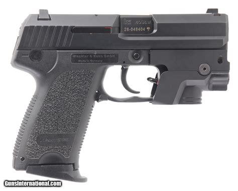 Heckler & Koch Hk Usp Compact 40 S&w Caliber Dao Semi