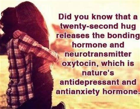 hug releases oxytocin