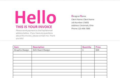 send   graphic design contract invoice estimate form