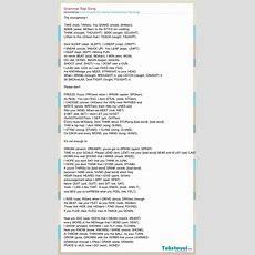 Learn English Esl Irregular Verbs Grammar Rap Song Grammar Rap Song слова песни