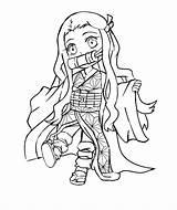 Slayer Demon Coloring Nezuko Tanjiro Wonder Printable Zenitsu Anime Characters Ausmalbilder Mask Sword Kamado Ausdrucken Commission Zum sketch template