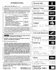 Honda Accord Coupe Aerodeck 1996 Taller English Pdf Honda Accord Coupe 1996  U2013 Diagramasde Com