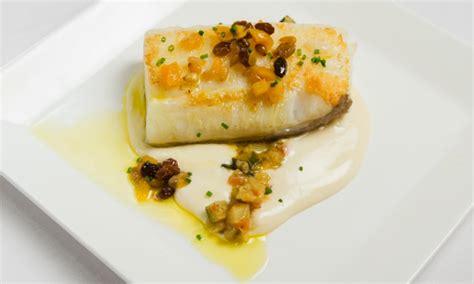 la cuisine a la plancha bacalao a la plancha con pisto restaurante artabria a