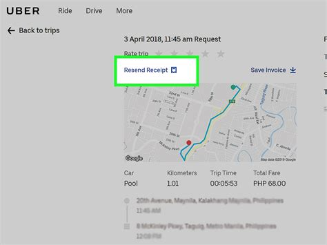 how to print uber receipts 9 steps with pictures wikihow