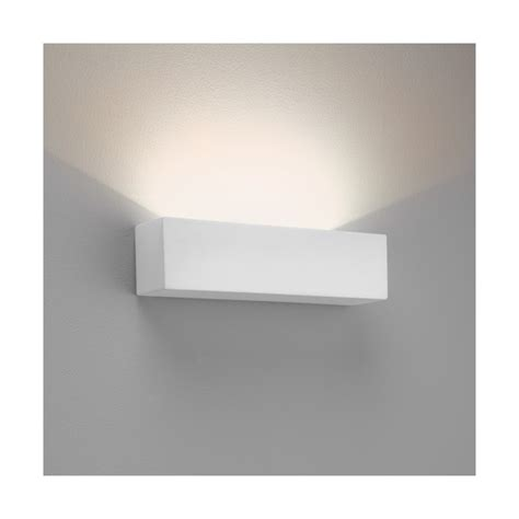 astro 7599 parma 250 led wall light white plaster