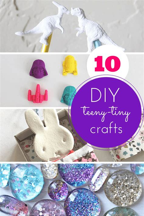 teeny tiny totally cool crafts