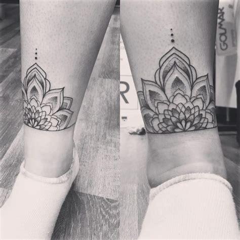 exclusive ankle bracelet tattoo  men  women