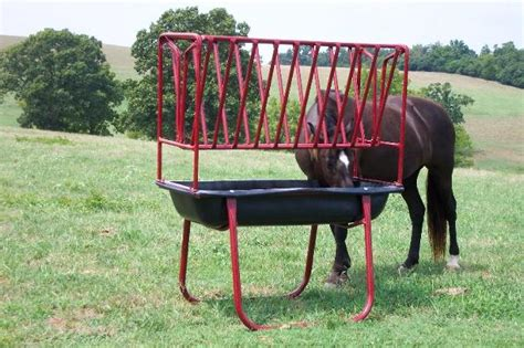 metal hay feeder feeders