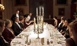 downton abbey   dine  style