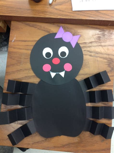 preschool spider art kindergarten smiles october 2012 391