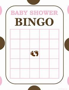 Free And Printable Baby Shower Bingo Card