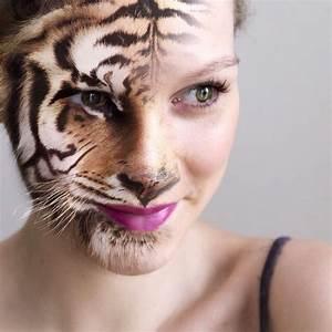 Half human. Half animal. #photoshop #portrait ...