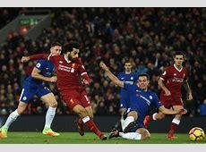 Chelsea vs Liverpool line ups Mohamed Salah starts on his