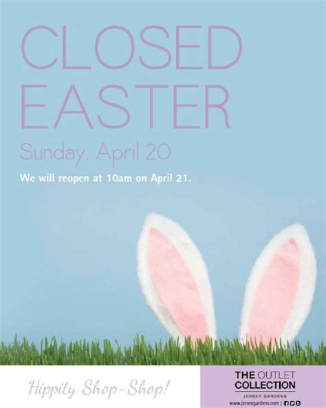 closed  easter sign template festival collections