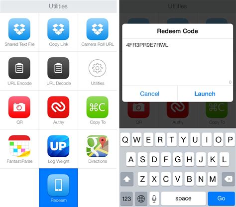 redeeming app store promo codes  launch center pro