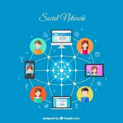 Vector Social Network Connection Freepik Premium Vectors