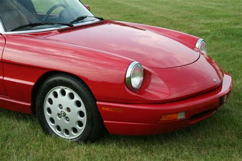1994 Alfa Romeo Spider For Sale by 1994 Alfa Romeo Spider Commemorative Edition Classic