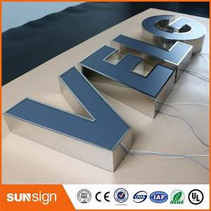 Channel letter sign making led advertising illuminated for Channel letter sign supplies