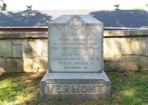 vermont s company f 1st united states sharpshooters