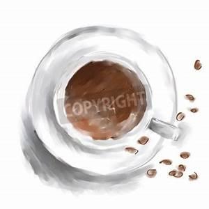 Bilder Schwarz Weiß Gemalt : kunst digital acryl gemalt kaffee wei e tasse mit braunen bohnen leinwandbilder bilder kaffee ~ Eleganceandgraceweddings.com Haus und Dekorationen