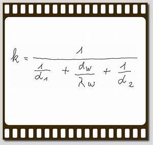 Wärmedurchgang Berechnen : formel der widerstands serienschaltung beim w rmedurchgang zur wiederholung die 3 terme im ~ Themetempest.com Abrechnung